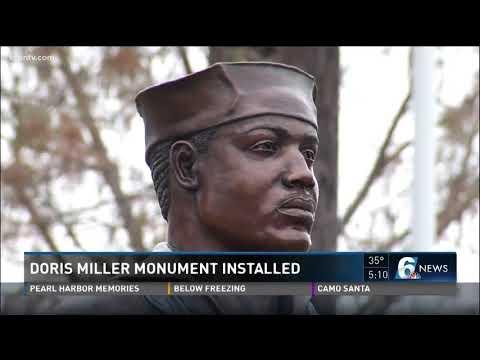 Doris Miller monument installed