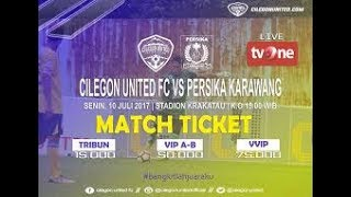 Video Gol Pertandingan Cilegon United vs Persika Karawang