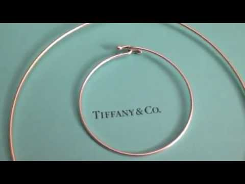 Tiffany & Co review ~ wire bracelet and necklace