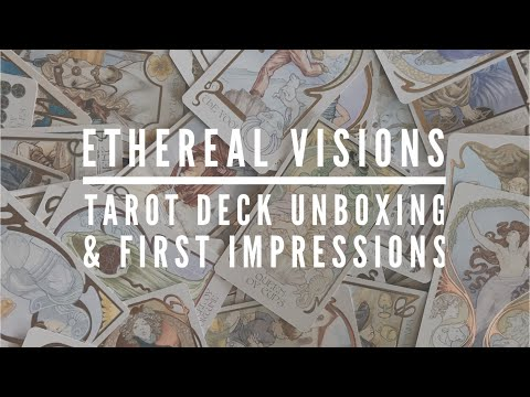 Ethereal Visions Tarot Deck Unboxing & First Impressions