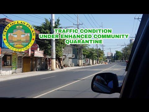 LAS PIÑAS CITY TRAFFIC CONDITION UNDER TOTAL LOCKDOWN  | MAUREEN RECTO