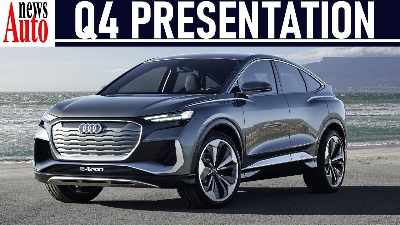 2021 audi q4 sportback e-tron - world premiere   newsauto