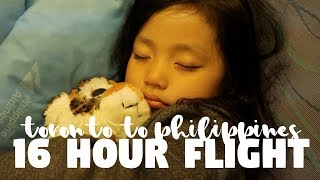 FLYING WITH A 4 YEAR OLD DIRECT FLIGHT PHILIPPINES DAY 1