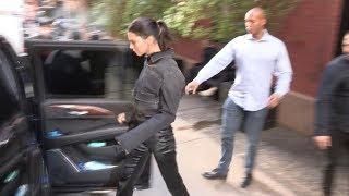 Kendall Jenner leaving the Mercer Hotel in New York City
