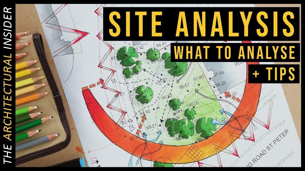 Analysis architecture site SITE ANALYSIS