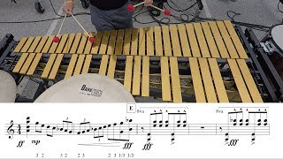 "2018 Boston Crusaders Vibes - LEARN THE MUSIC to ""Marimba Spiritual"""
