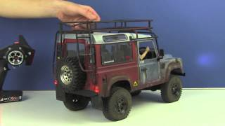 RC4WD Gelände II 4x4 Truck Kit w/Defender D90 Body Set