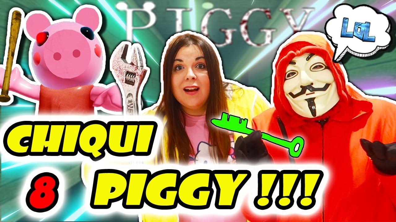 CHIQUI PIGGY nos persigue EN CASA 😱 El HACKER sueña con PIGGY EN LA VIDA REAL de Roblox 🐷