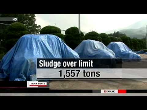 14 Prefectures Contain Over 1,500 Tons Of Radioactive Sludge Cannot Be Buried - Japan - Fukushima
