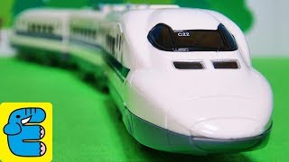 プラレール ライト付700系新幹線 Plarail Series 700 Shinkansen with Light [English Subs] thumbnail