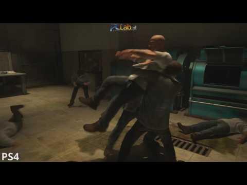 Uncharted 4: Kres Złodzieja – test płynności – walka w pralni (PlayStation 4)