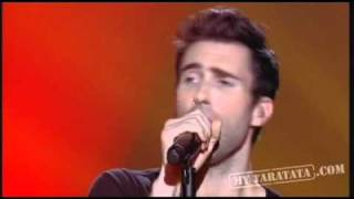 Maroon 5 - Let's Stay Together (Al Green cover) live on french TV