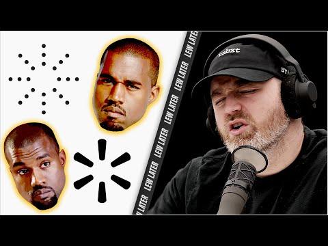 Kanye West Yeezy vs Walmart Logo Controversy...