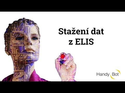Stažení dat z ELIS