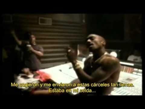 2pac ft Phill Collins &  Khadafi - Starin throught my rear view Traducida