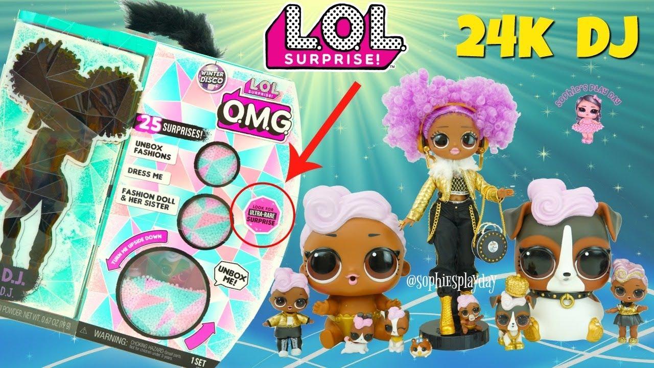 LOL Surprise Winter Disco BIGGER SURPRISE OMG Fashion Doll Tots Lil Pet NEW