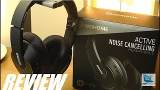 REVIEW: Wohome Active Noise Cancelling Headphones (Wireless)