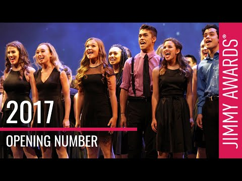 2017 Jimmy Awards Opening Number