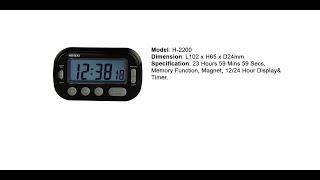 HOSEKI H-2200 Timer Clock