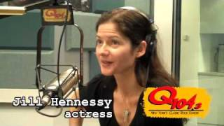 Q1043FMs Jim Kerr & Shelli Sonstein off-air w/Jill Hennessy