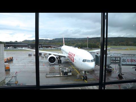 SWISS NEW ECONOMY CLASS   ZURICH-MONTREAL   Boeing 777er