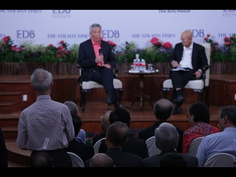 Q14: On Singapore's relations with the US and China (Pioneering the Future Series Forum)