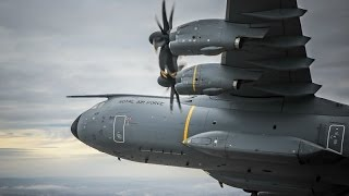 "A400m ""city Of Bristol"" Fly Past Over Clifton Suspension Bridge And Airbus, Filton"