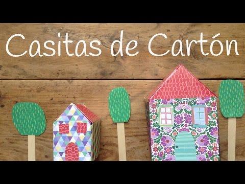 Casa de cartón para niños, unas manualidades fáciles de hacer en casa
