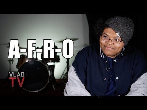 AFRO on Recording First Songs at 13, Initial Attraction to 90s HipHop
