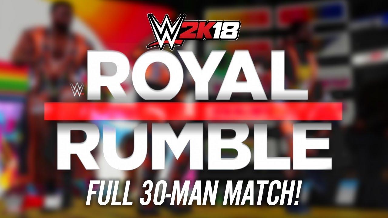 Image result for Royal Rumble 2k18