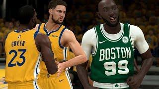 NBA 2K20 Tacko Fall My Career - Klay Wants to FlGHT!