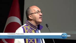 GÜN Haber - Gümüşhane Üniversitesi Yeni Kongre Merkezi Açılışı Ve Mezuniyet Töreni