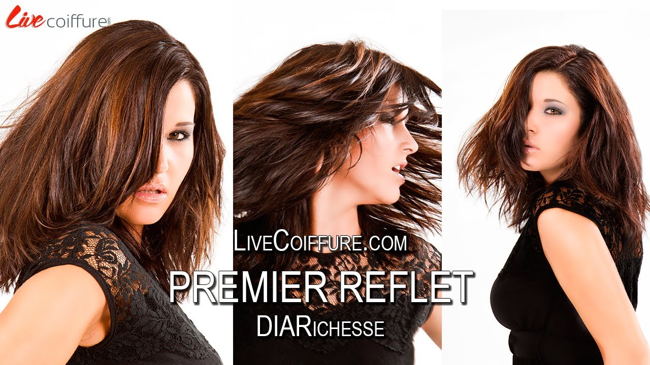 teaser de la formation coloration coiffure diarichesse premier reflet par livecoiffure youtube - Coloration Marron Pralin