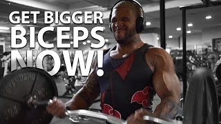 How To Get Big Biceps:  Maximum Gains level Over 9000!!!