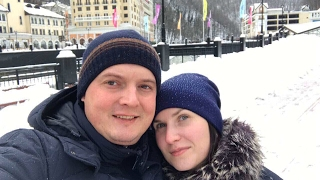 Адлер-Сочи-Роза Хутор и обратно своим ходом. Сбегаем от Московской зимы, 3 декабря