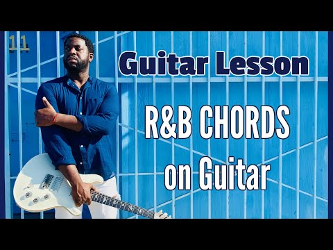 R&B chords on guitar