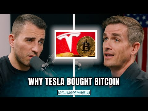 Why Tesla Invested in Bitcoin   Preston Pysh   Pomp Podcast CLIPS