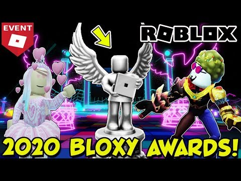 🔴 2020 BLOXY AWARDS LIVE - 7th Annual Roblox Bloxy Award Viewing Party