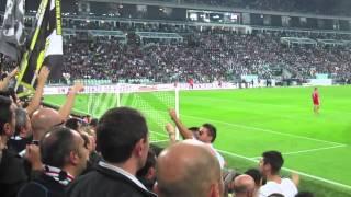 Juventus  Napoli 2-0  20/10/2012 Curva Sud