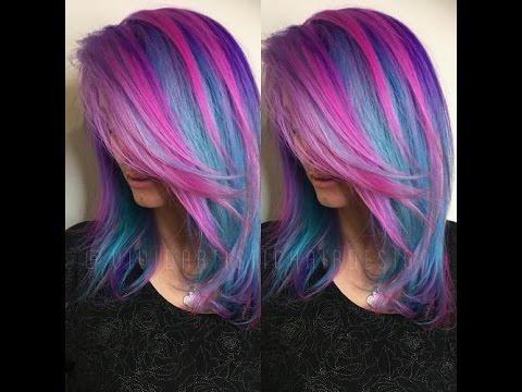 Blue and purple hair ideas youtube blue and purple hair ideas junglespirit Gallery