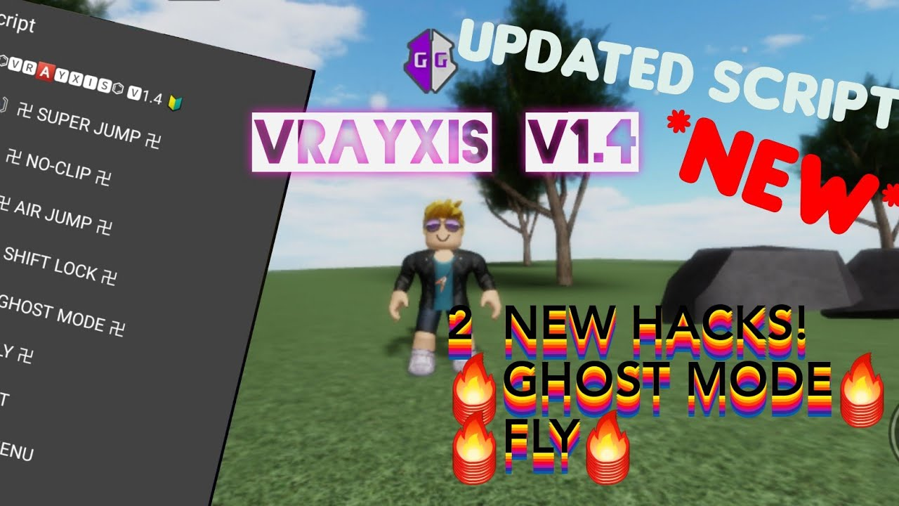 Roblox Ghost Mode And Fly Hack Script Roblox Exploit Mobile Game Guardian Youtube