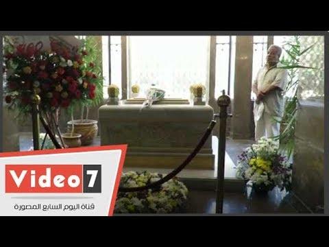 أحفاد الزعيم جمال عبد الناصر يزورون ضريحه في ذكرى ثورة يوليو  - نشر قبل 1 ساعة