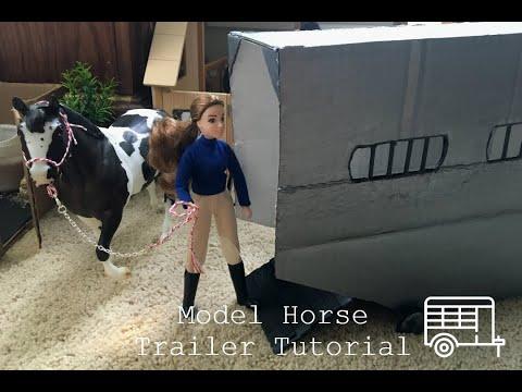 Traditional Breyer Horse Trailer Tutorial