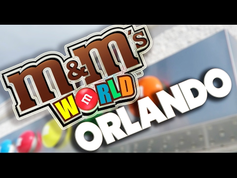 M&M's WORLD IN ORLANDO FLORIDA - SHOP TOUR