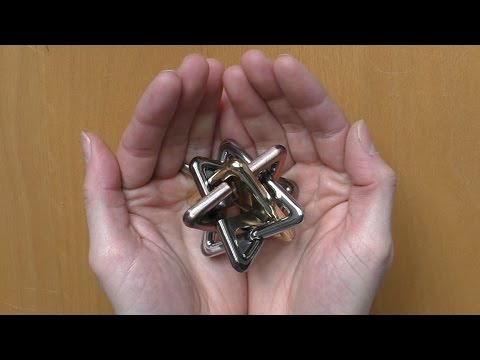 The Archimedes Star Metal Puzzle by Eureka - Unboxing and Solution