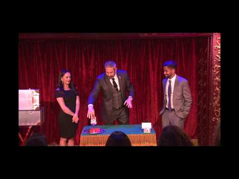 Magician Ben Silver at Magic Castle in Hollywood, CA