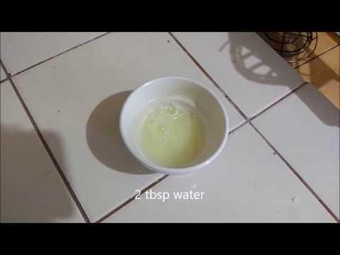 How to Clean Bike Chain using Dishwashing Liquid and Baking Soda