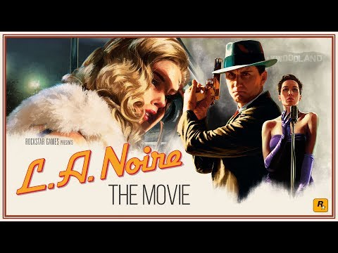 L.A. Noire Movie - All Cutscenes Compilation [10hour-60fps-HDR]