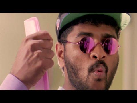 Prabhu Deva rocks as a barber - Sapnay, Comedy Scene 6/12