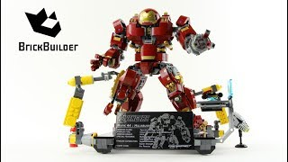Lego Super Heroes 76105 The Hulkbuster: Ultron Edition - Lego Speed Build